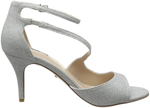 Carvela Damen Gamma Sandalen Silberfarben