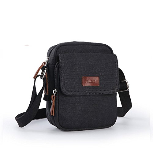 Men Messenger Korean Mens Satchel Vintage Bags Casual Bag Outdoor a Canvas Shoulder D Sport FCq6Cw