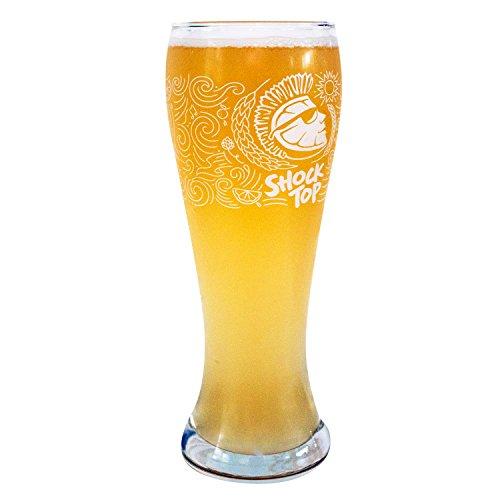 Shock Top Pilsner Pint Glass (Shock Top Beer Glass)