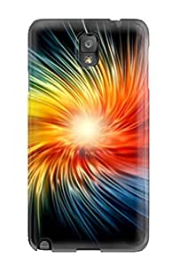 New Style Pretty Galaxy Note 3 Case Cover/ Nice Colorful Abstract Series High Quality Case