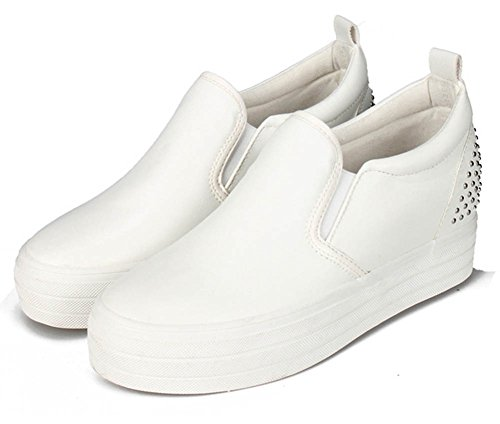 Chaussures Aisun blanches Casual homme