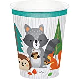 Wild One Woodland Paper Cups, 24 ct