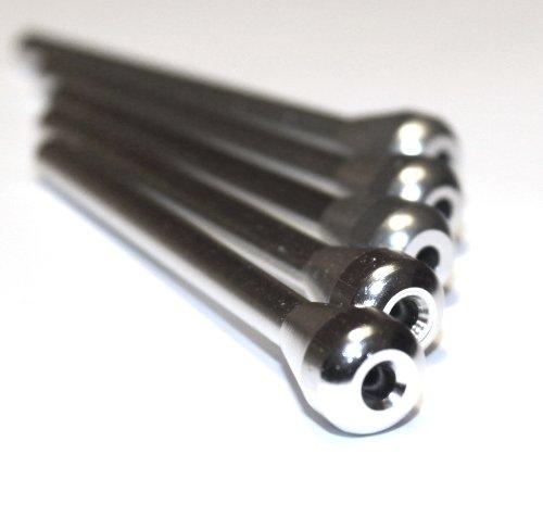 Metal Sniffer Snorter Silver KASEBI