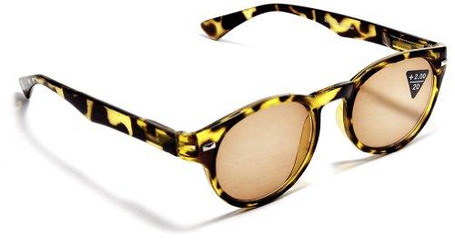 FG Kate Moss Style Retro Round Reading Sunglasses +150, 200, 250, 300 Power - Moss Sunglasses