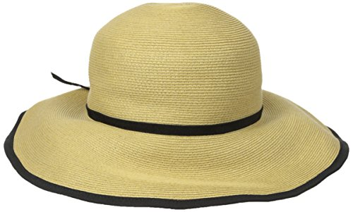 san-diego-hat-womens-finebraid-floppy-black-one-size