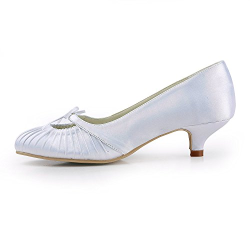 Minitoo Escarpins pour Femme - Beige - Ivory-5cm Heel, 38