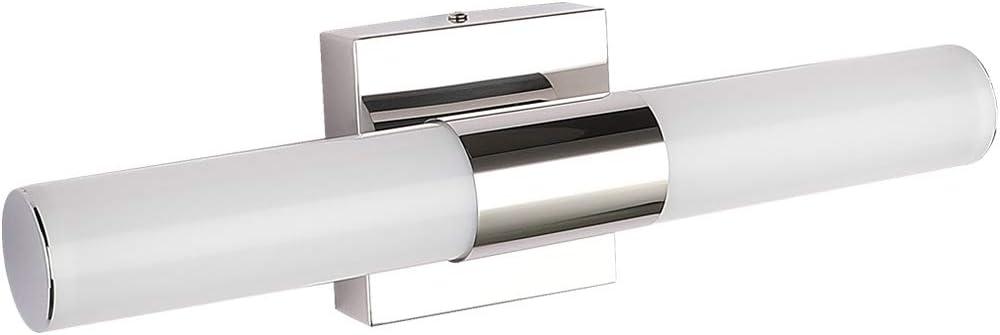 Led Vanity Lights Joosenhouse Modern Stainless Steel Bathroom Light Fixtures Over Mirror As Make Up Lighting 560lm Daylight Bath Wall Lamp 8w 15 7inch Amazon Com