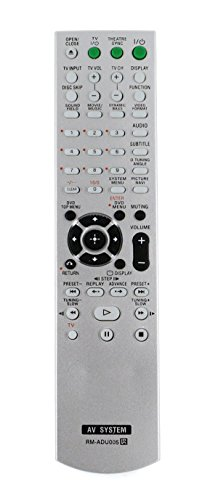 New RM-ADU005 Replace AV System Remote fit for Sony DAV-DZ630 HCD-DZ630 DAV-HDX265 HCD-HDX265 HCD-DZ231 DAV-HDZ235 HCD-HDZ235 DAV-DZ30 DAV-DZ530 DVD Home Theatre System Factory Av Systems
