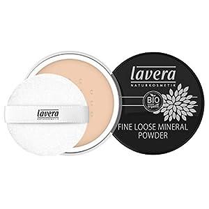 lavera Fine Loose Mineral Powder -Ivory 01- Poudre Libre Minérale ∙ Procure un teint mat naturel ∙ Vegan Cosmétiques…