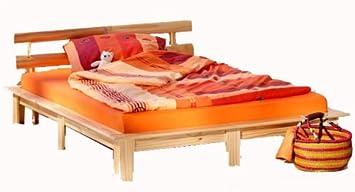 links 30400610 futonbett cloud kiefer massiv farblos lackiert liegeflache 140 x 200 cm