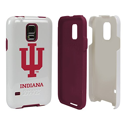 Indiana Hoosiers - Hybrid Case for Samsung Galaxy S5 - White