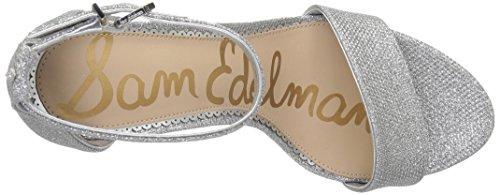 Edelman Sam Mesh Soft Silver Yaro Women's Glam 8wazAqgw