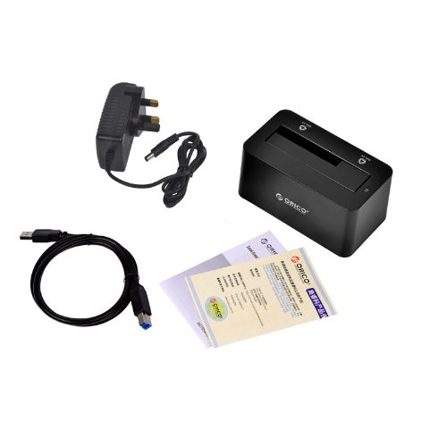 "Kingzer New 2.5""& 3.5"" USB 3.0 to SATA HDD Docking Station 3TB HDD Dock ORICO 6619US3 UK from KINGZER"