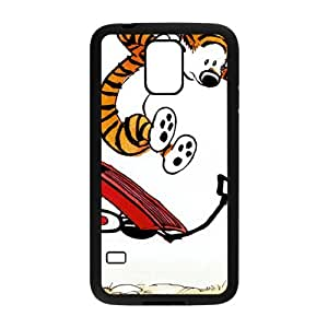 Calvin and tigger Cell Phone Case for Samsung Galaxy S5 by icecream design