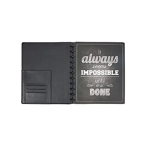 delicate staples arc system poly covers assorted quotes 9 3 8 inch