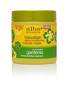 Alba Botanica Hawaiian, Gardenia Deep Conditioning Minute Mask, 5.5 Ounce