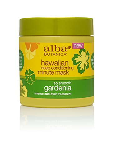 - Alba Botanica Go Smooth Gardenia Hawaiian Deep Conditioning Minute Mask, 5.5 oz.