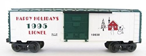 - LIONEL TRAINS CHRISTMAS HOLIDAY 1995 BOXCAR 19938