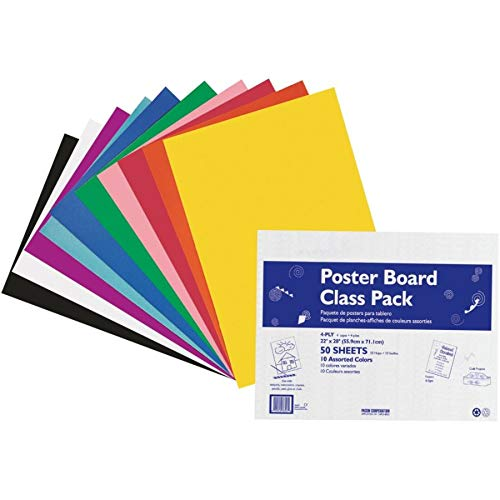 Poster Paper Board (Pacon Poster Boards (PAC76347))