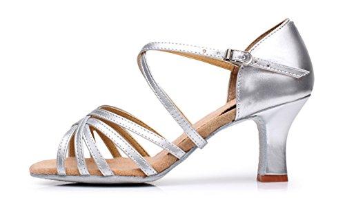 Baile Mujer Zapatos de de Latino Est YOGLY BqwTF4