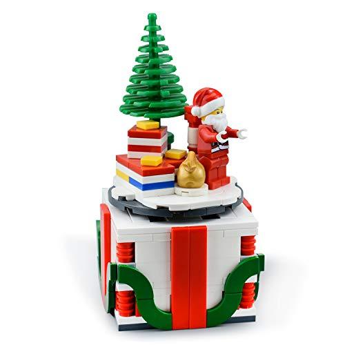 LetMay Moc - Santa Gift ,Christmas Happy Box Building Blocks 230 Parts Fit for Lego Set
