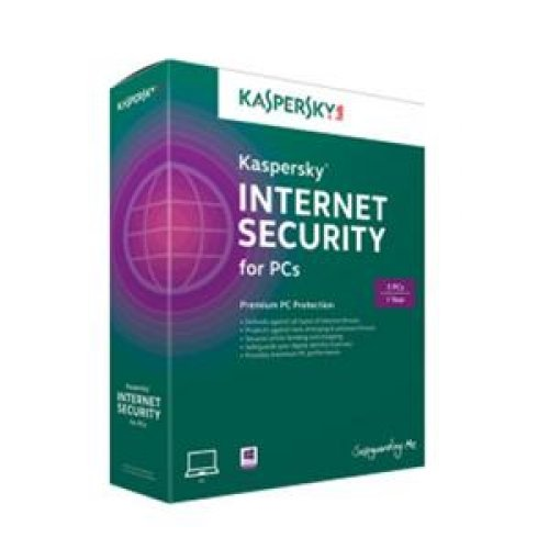 Kaspersky Lab Internet Security 2014 for 3 users, 1 year ...
