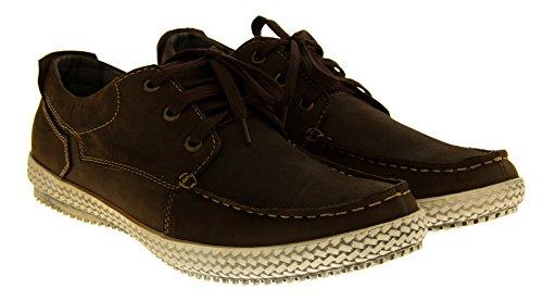 uomo Footwear Studio marrone chiusa Punta Marrone zvZwv6x
