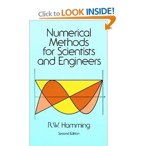 by Richard Hamming Numerical Methods for Scientists and Engineers(text only)2nd(Second) edition[Paperback]1987