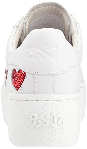 Ash Women's As-Cute Sneaker White/Red kvq4go7h