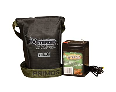 Primos 6V Steroid Trail and Game Camera Battery Pack by Primos Hunting
