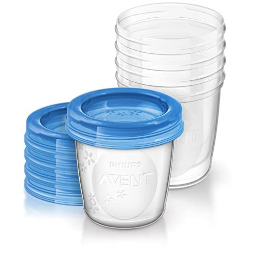 Philips AVENT Breast Milk Storage Cups, 6 Ounce...
