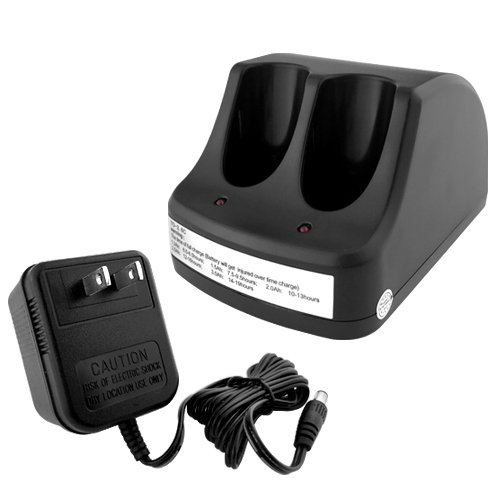 Black Decker Versapak Charger - Replacement For Black & Decker Versapak VP130 Dual Port Charger (Batteries not Included)