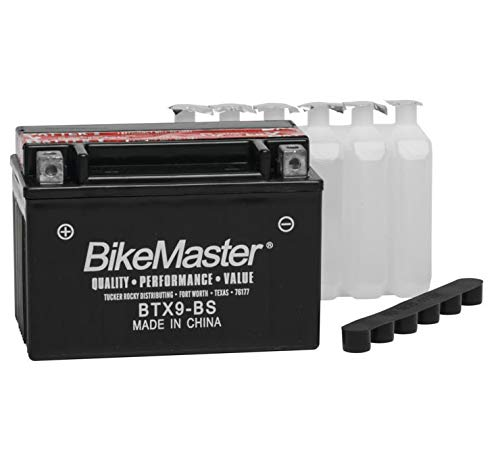 BikeMaster Maintenance Free Battery BTX9-BS for Triumph Street Triple 675R 2009-2017