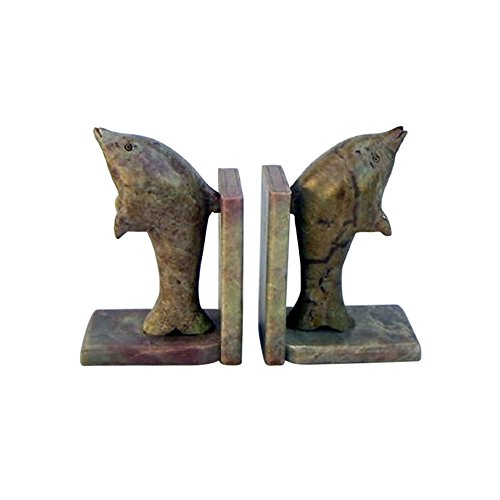 Soap Stone Dolphin Soapstone Bookends - Nautical Decor from Nautical Decor