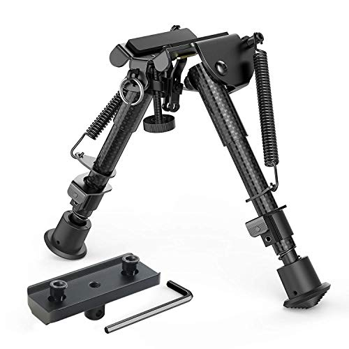 XAegis Carbon Fiber 6? ? 9? Rifle Bipod
