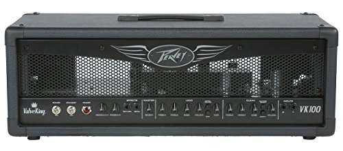 Peavey Valveking Guitar Amplifier - Peavey ValveKing 100 Electric Guitar All-Tube Amp Head 100 Watts Amplifier (Certified Refurbished)