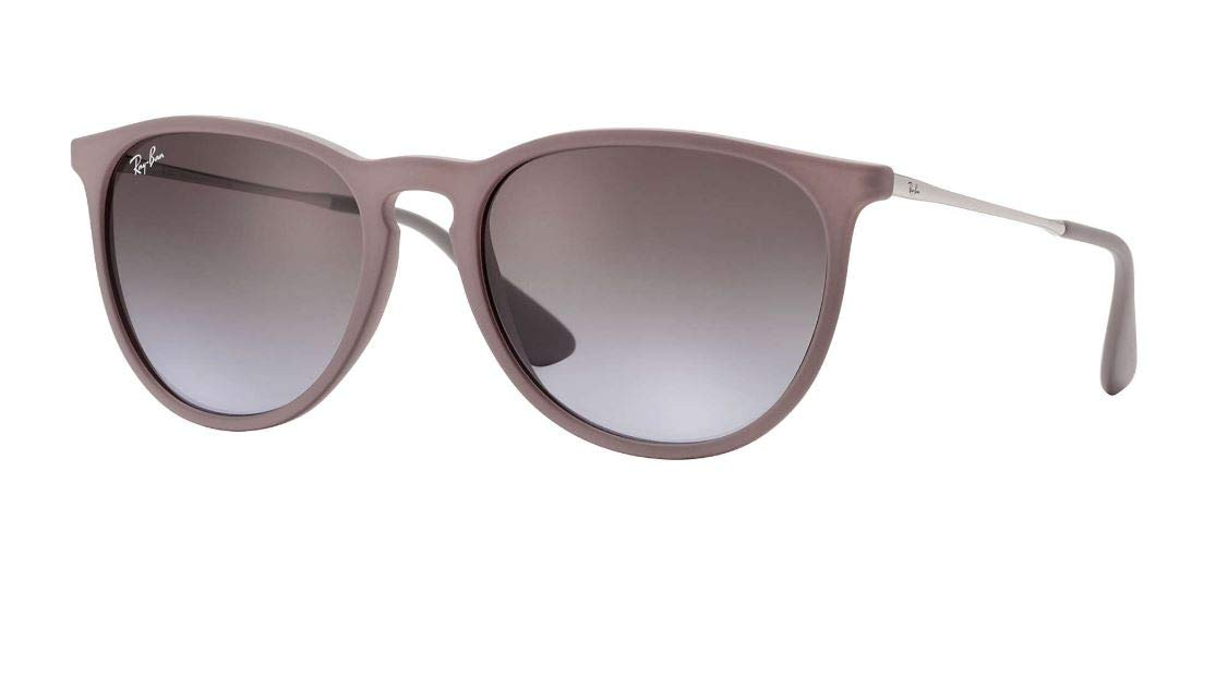 Ray Ban RB4171 ERIKA 600068 54M Dark Rubber Sand/Brown Gradient Sunglasses For Women by Ray-Ban