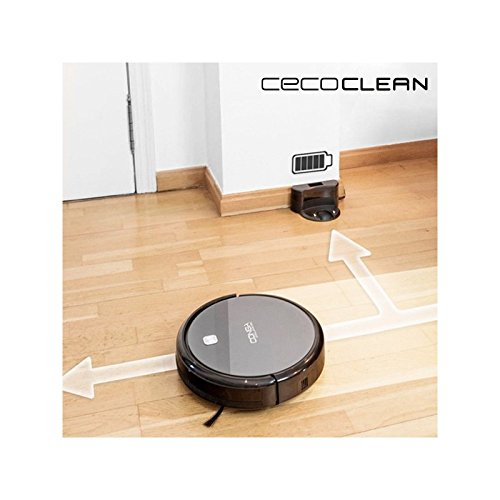 Robot Aspirador con Mopa y Depósito de Agua Cecoclean Excellence ...