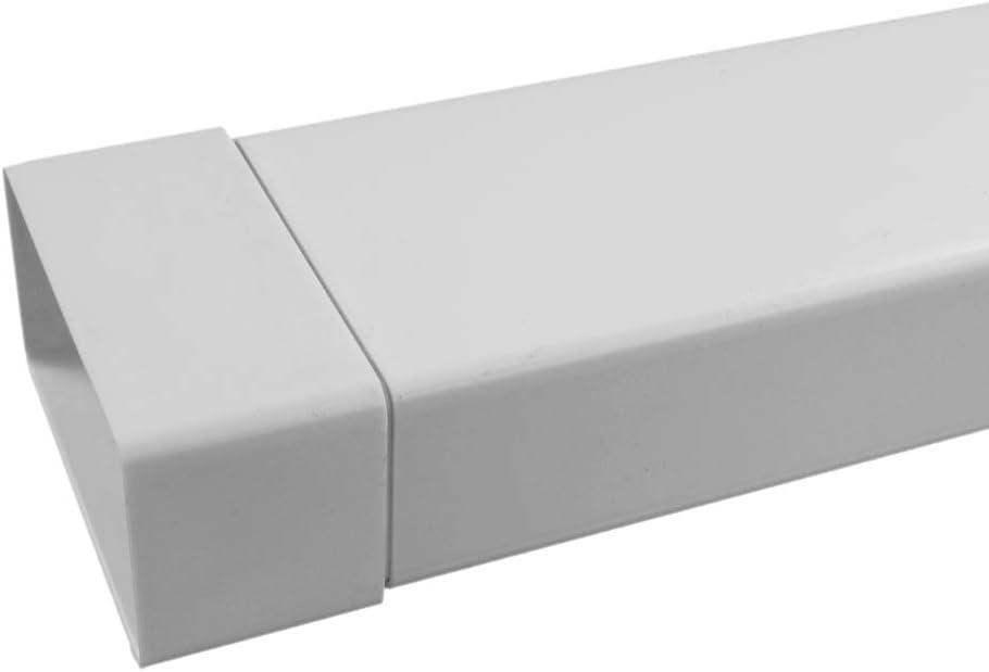 Zwischenst/ück Flachkanal NW100 55x110