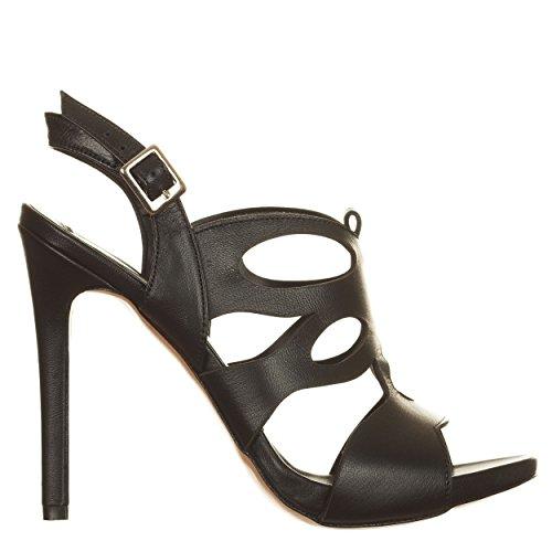 VialeScarpe Ers-329znpne_35, Sandales pour femme noir noir 35 Noir