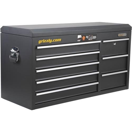 """Grizzly T26899 8 Drawer Wide Tool Chest, 40"""""""