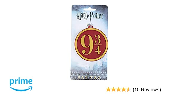 Harry Potter Hogwarts Express 9 3//4 Heavy PVC Luggage Bag Tag by Harry Potter