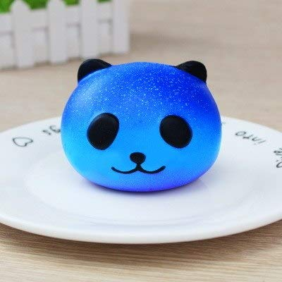 1 Piece New Fashion Children Cute Blue Panda Pig Cream Scented Squishy Kawaii Slow Rising Squeeze Kids Toys Phone Charm New Year Gifts