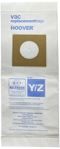 Hoover Paper Bag, Type Y & Z Allergan ()