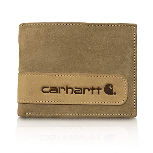 Carhartt Men's Billfold Wallet, two-tone brown, One Size