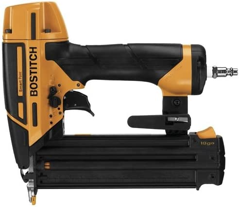BOSTITCH Nail Gun, Brad Nailer, Smart Point, 18GA BTFP12233