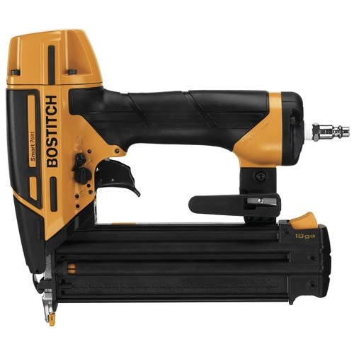 BOSTITCH Nail Gun, Brad Nailer, Smart Point, 18GA  - 18 Nailer Brad Gauge