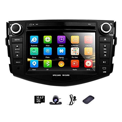 GPS Car Radio DVD in Dash Stereo Navigation for Toyota