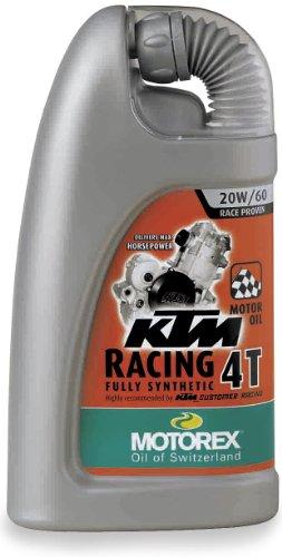 Motorex KTM Racing 4T Oil - 20W60 - 4L. 402-400