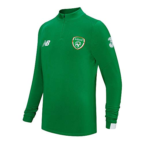New Balance 2019-2020 Ireland On Pitch Midlayer Top (Green)